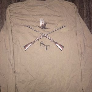 Southern Tide Long Sleeve Shirt Size Small